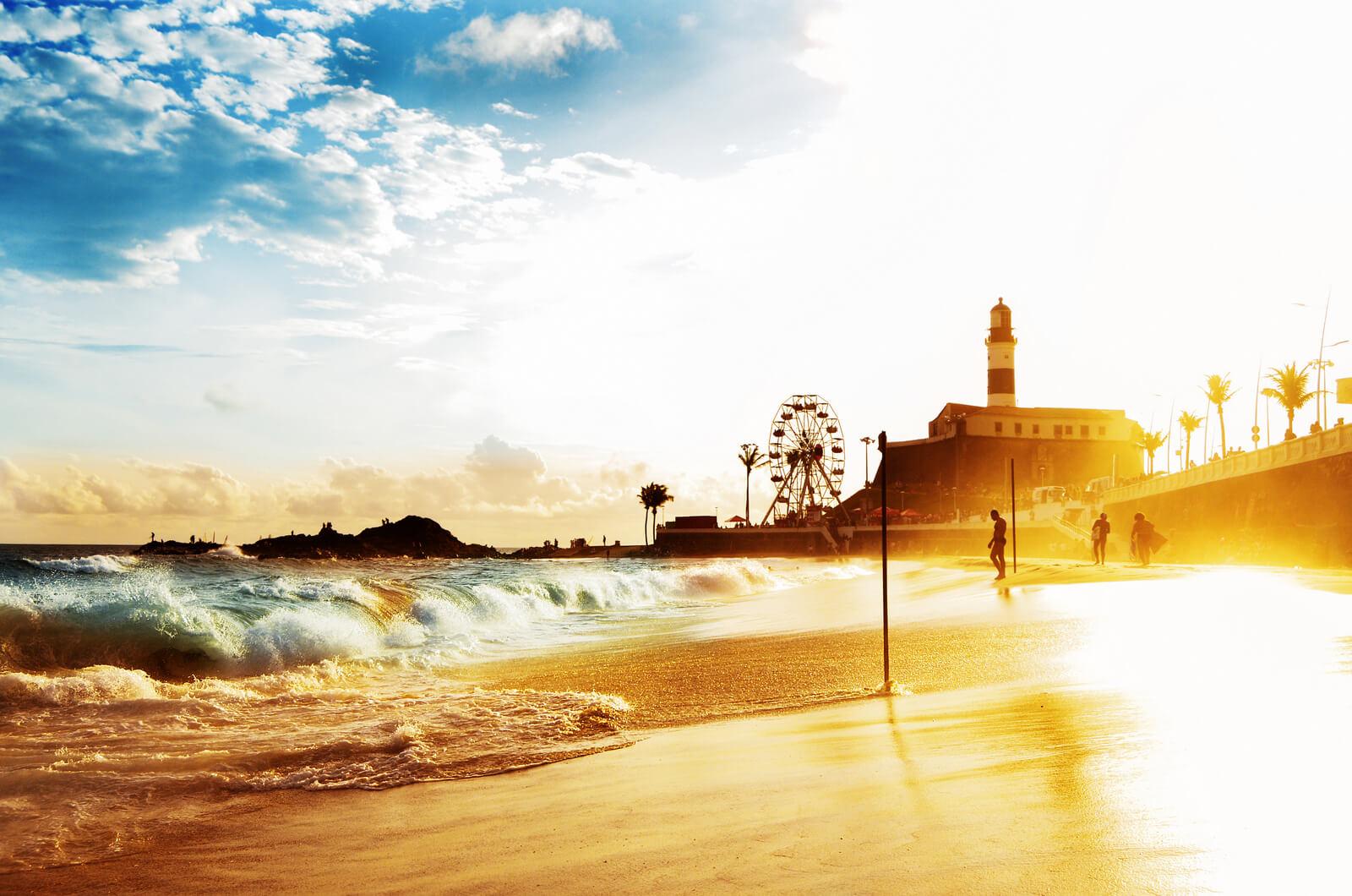 Passeio nas Praias de Salvador